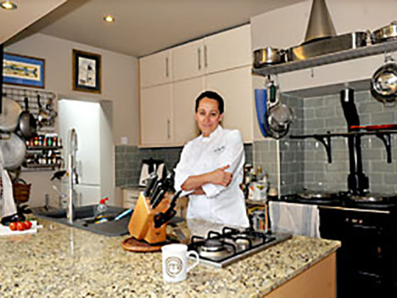 Celebrity TV Chef Sara Danesin